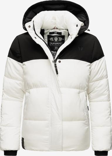 NAVAHOO Winterjacke 'Sarafina' in schwarz / weiß, Produktansicht