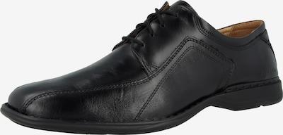 JOSEF SEIBEL Schnürschuh 'Spike' in schwarz, Produktansicht