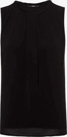 zero Blusenshirt in schwarz, Produktansicht