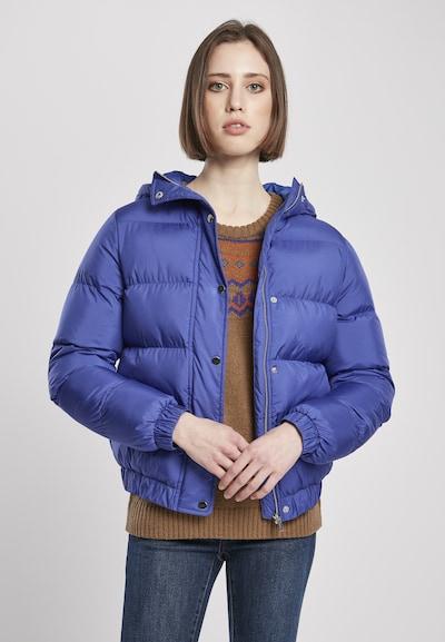 Urban Classics Zimná bunda - modrá, Model/-ka