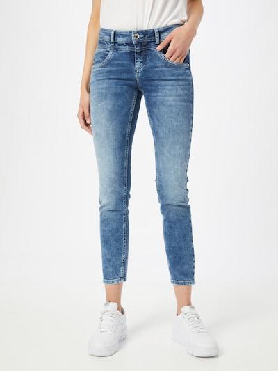STREET ONE Jeans in blau, Modelansicht