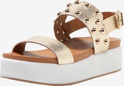 INUOVO Sandalen in gold, Produktansicht