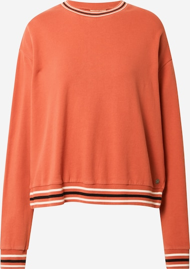 ROXY Sports sweatshirt 'FORMYFRIEND' in dark orange / black / white, Item view