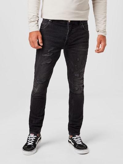 tigha Jeans 'Billy' in black denim, Modelansicht