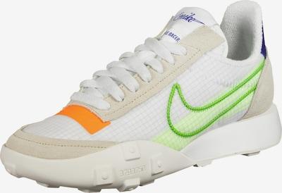 Nike Sportswear Sportschoen 'Waffle Racer 20' in de kleur Beige / Blauw / Groen / Sinaasappel / Wit, Productweergave