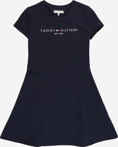Suknelė 'ESSENTIAL' iš TOMMY HILFIGER , spalva - tamsiai mėlyna / šviesiai raudona / balta, Prekių apžvalga