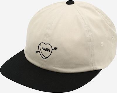 VANS Cap 'Valentines Jockey' in creme / schwarz, Produktansicht