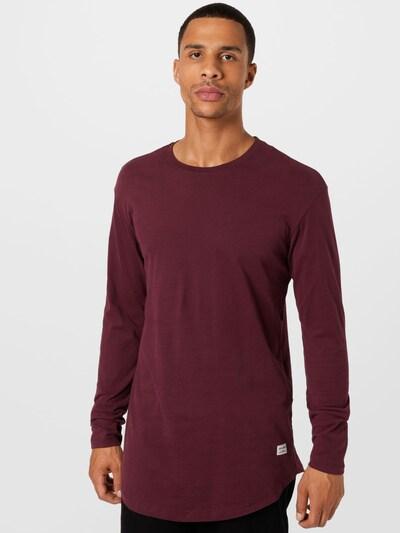 JACK & JONES Тениска 'NOA' в бургундово червено: Изглед отпред