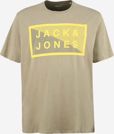 Jack & Jones Plus Tričko 'SHAWN' - žlutá / khaki, Produkt