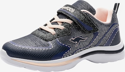 KangaROOS Sneaker in navy / pastellpink, Produktansicht