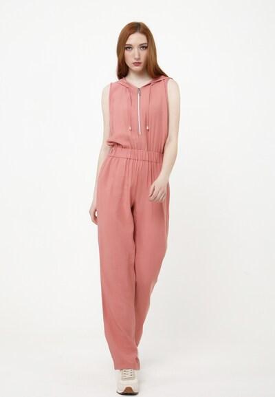 Madam-T Jumpsuit 'Nidelva' in de kleur Rosa, Modelweergave