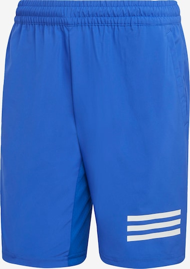 ADIDAS PERFORMANCE Shorts in royalblau / weiß, Produktansicht