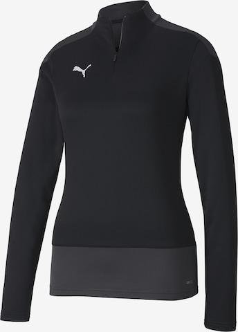 PUMA Athletic Sweatshirt in Black