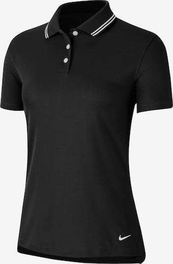 NIKE Poloshirt 'Victory' in schwarz / weiß, Produktansicht