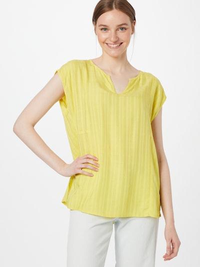 ESPRIT Blouse in de kleur Geel, Modelweergave