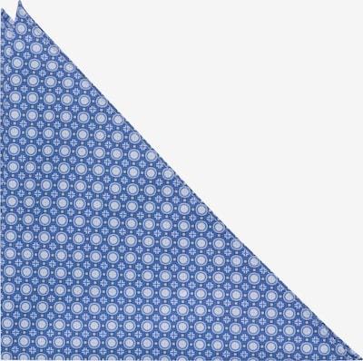 ETERNA Einstecktuch in blau / weiß, Produktansicht