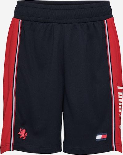 Tommy Sport Športne hlače 'ICONIC' | mornarska / rdeča / bela barva, Prikaz izdelka