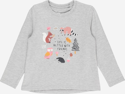 STACCATO Sweatshirt in goldgelb / graphit / graumeliert / rosa / weiß, Produktansicht
