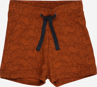 Müsli by GREEN COTTON Shorts in ocker / dunkelbraun, Produktansicht