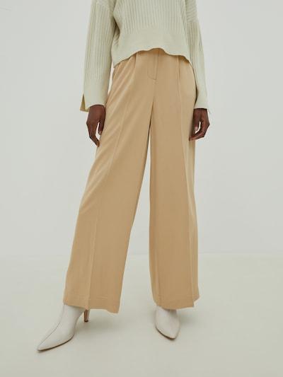 EDITED Kalhoty s puky 'Kelly' - béžová, Model/ka