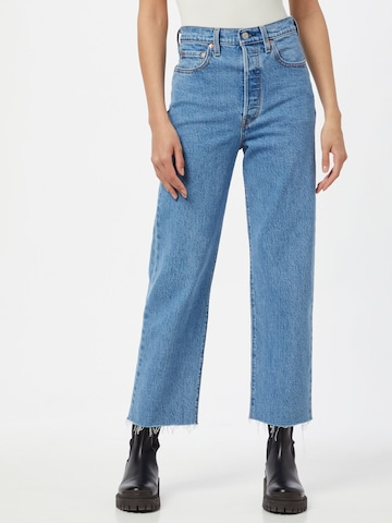 LEVI'S Jeans 'RIBCAGE' in Blau