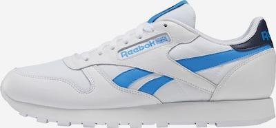 Reebok Classic Baskets basses en bleu / blanc, Vue avec produit