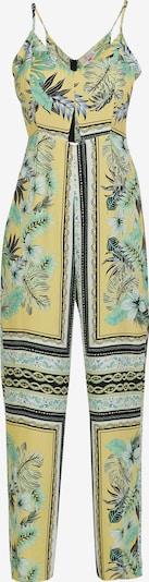 IZIA Jumpsuit in de kleur Geel / Gemengde kleuren, Productweergave