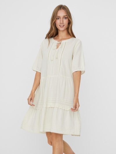 VERO MODA Blousejurk 'Ibia' in de kleur Wit, Modelweergave
