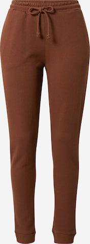 NA-KD Püksid, värv pruun