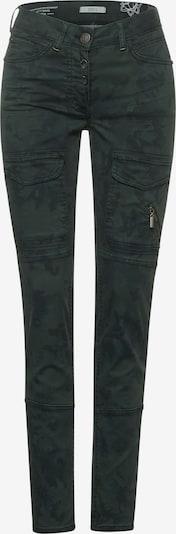 CECIL Hose in dunkelgrau / khaki / schwarz, Produktansicht