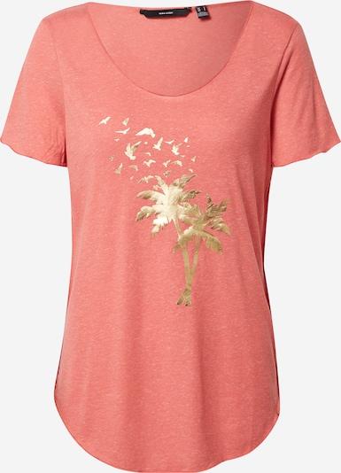 VERO MODA Shirt 'LUA' in de kleur Goud / Koraal, Productweergave