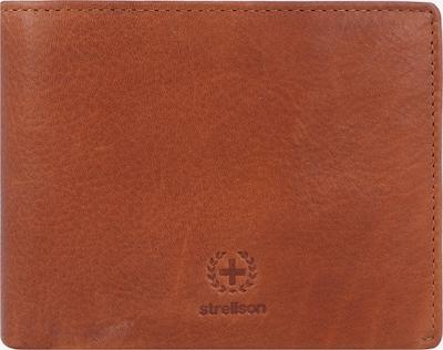 STRELLSON Porte-monnaies en marron / noir, Vue avec produit