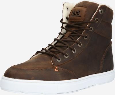 Auliniai batai su raišteliais 'Dublin' iš HUB , spalva - ruda, Prekių apžvalga
