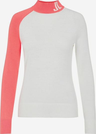 J.Lindeberg Pullover in pink / weiß, Produktansicht