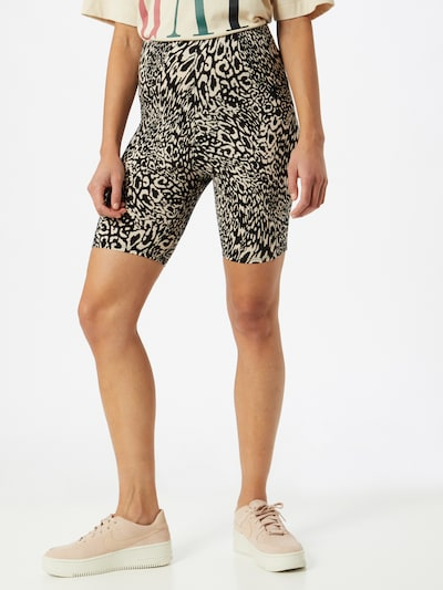 Miss Selfridge Shorts in braun / schwarz, Modelansicht