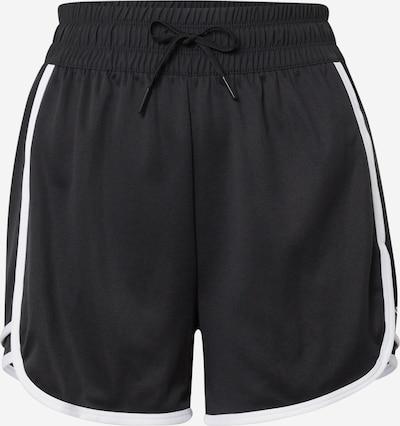Reebok Sport Pantalón deportivo en negro / blanco, Vista del producto