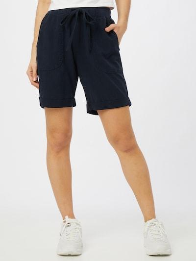Kaffe Pants 'Naya' in marine blue, View model