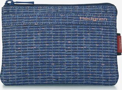 Hedgren Étui en bleu chiné, Vue avec produit