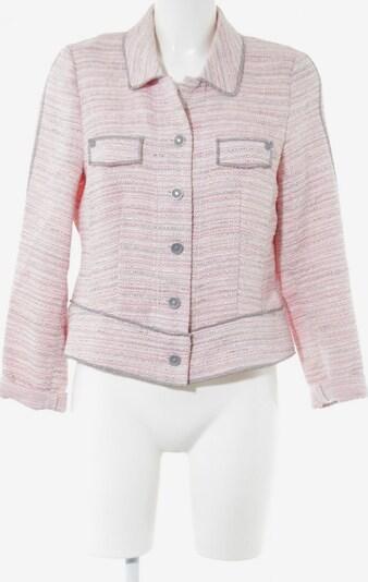 FRANK WALDER Kurzjacke in M in pink / weiß, Produktansicht