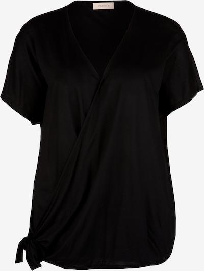 TRIANGLE T-Shirt in schwarz: Frontalansicht