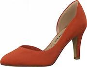 TAMARIS Lodičky v oranžovo-červenej farbe