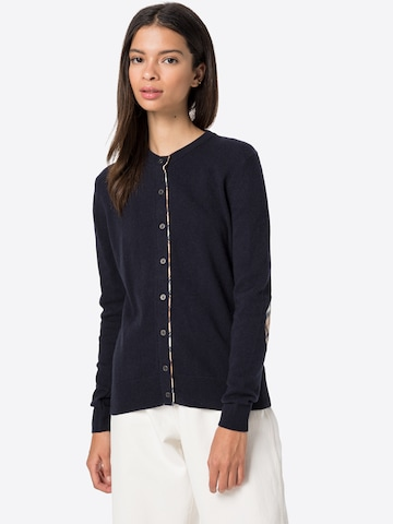 Barbour Knit Cardigan in Blue