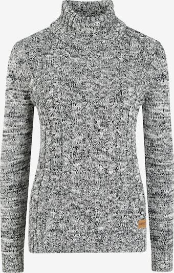 Oxmo Rollkragenpullover 'Philipa' in grau / hellgrau / graumeliert, Produktansicht