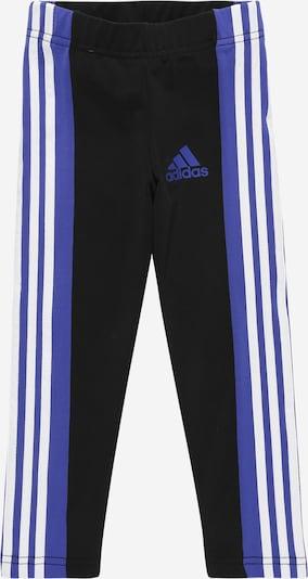 ADIDAS PERFORMANCE Sport-Hose in royalblau / schwarz / weiß, Produktansicht