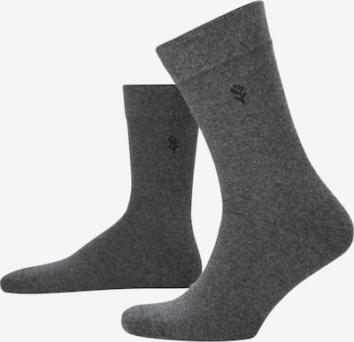 SEIDENSTICKER Sokken 'Schwarze Rose' in de kleur Grijs / Antraciet, Productweergave
