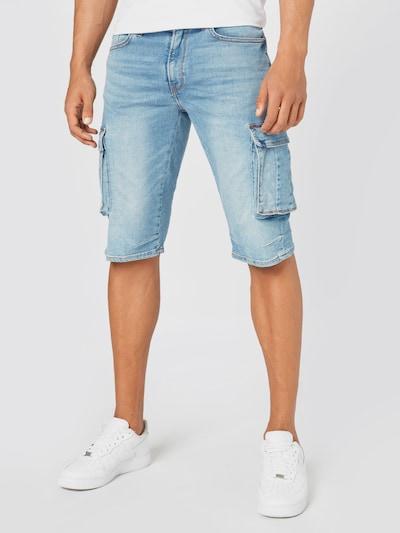 BLEND Džíny s kapsami - modrá džínovina, Model/ka