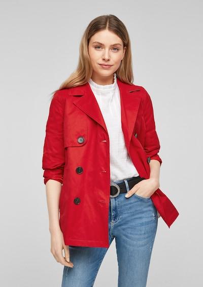s.Oliver Mantel in rot, Modelansicht