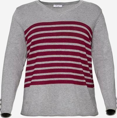 SHEEGO Sweter w kolorze nakrapiany szarym, Podgląd produktu