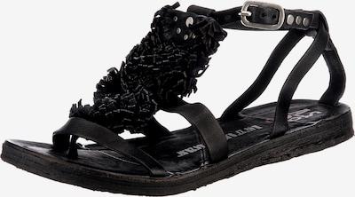 Sandale cu baretă 'RAMOS' A.S.98 pe negru, Vizualizare produs