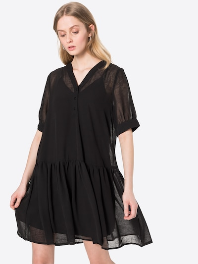 SELECTED FEMME Košilové šaty 'Abigail' - černá, Model/ka